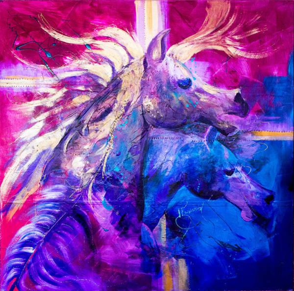 Elwood Blues Painting - Whoa by Jann Elwood