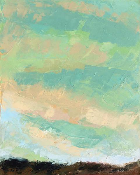 Aurora Borealis Painting - Wholeness by Nathan Rhoads