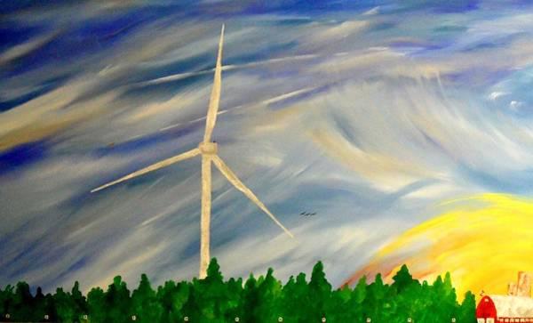 Painting - Whos Right by Cyryn Fyrcyd