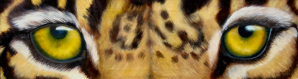 Wall Art - Painting - Whos Watching Who Jaguar by Darlene Green