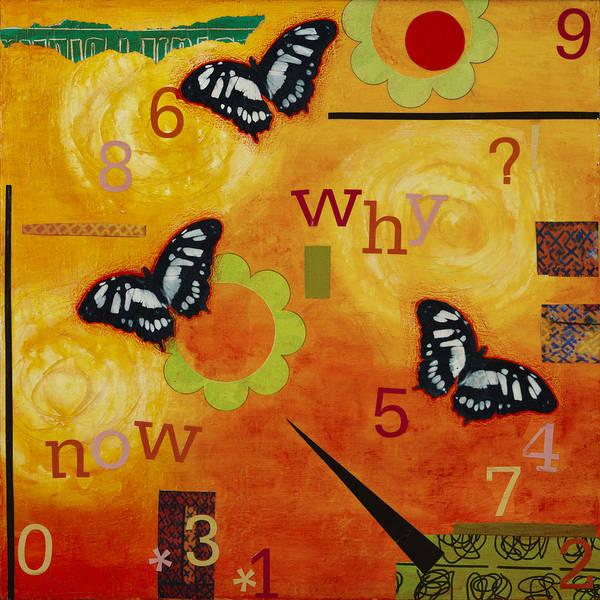 Wall Art - Mixed Media - Why by Gloria Rothrock