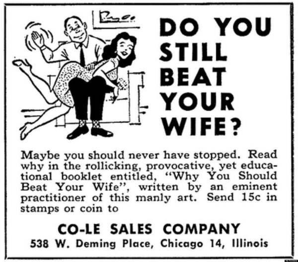 Why You Should Beat Your Wife Art Print