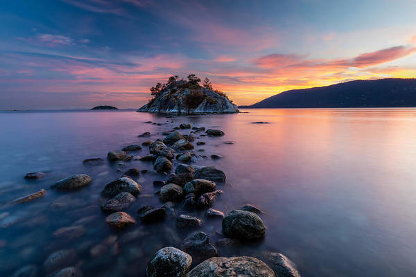Photograph - Whyte Island Sunset by Pierre Leclerc Photography