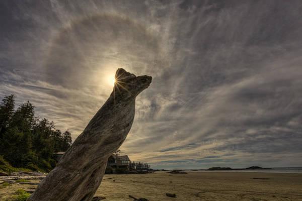 Wall Art - Photograph - Wickaninnish Beach Sun Halo by Mark Kiver