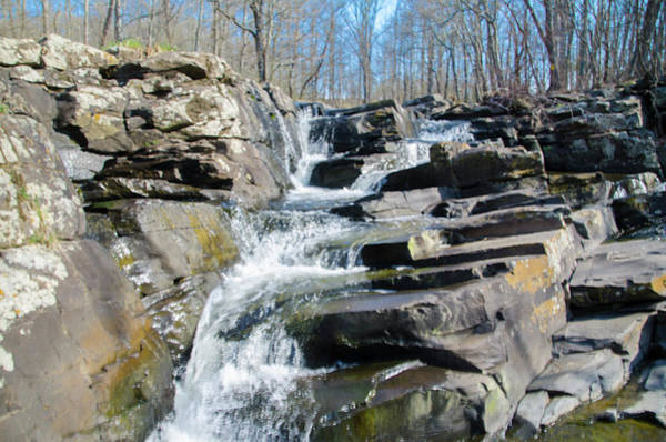 Photograph -  Wickecheoke Creek Waterfall by Bill Cannon