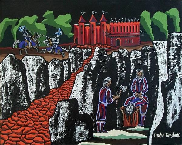 Wicked Times Art Print by Deidre Firestone