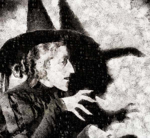 Business Mixed Media - Wicked Witch, Wizard Of Oz by John Springfield