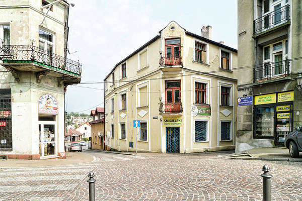 Photograph - Wieliczka Corner Crossroads by Sharon Popek