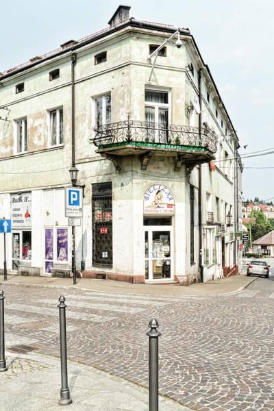 Photograph - Wieliczka Corner Shop by Sharon Popek