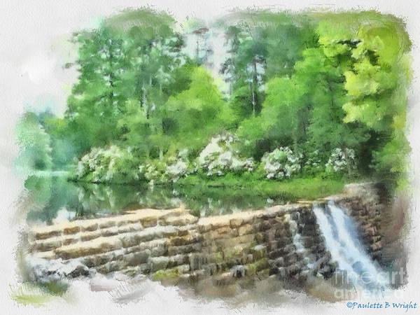 Painting - Wigwam Falls by Paulette B Wright