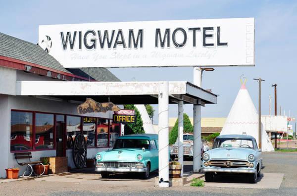 Photograph - Wigwam Motel Route 66 by Kyle Hanson