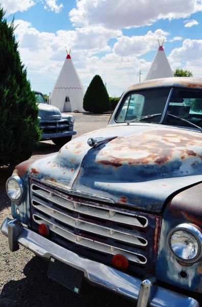 Photograph - Wigwam Motel Route 66 Studebaker by Kyle Hanson
