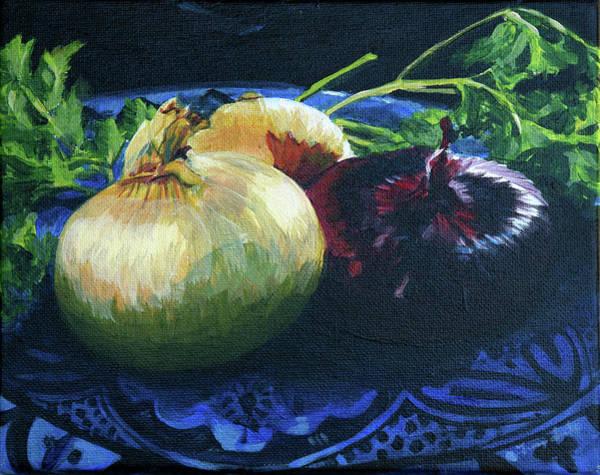 Painting - Wiinter Beauty by Trina Teele