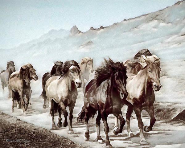 Digital Art - Wild And Free by Pennie McCracken