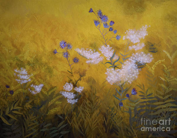Painting - Wild Are The Flowers by Charles Owens