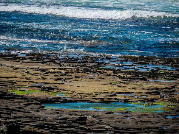 Photograph - Wild Atlantic Geology by James Truett