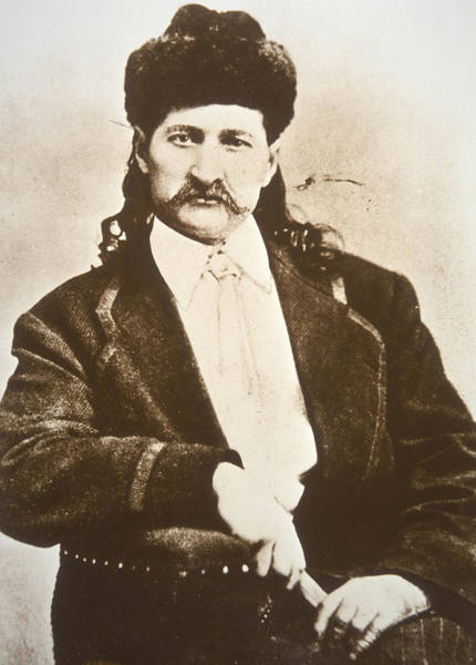 Gunslinger Photograph - Wild Bill Hickok by American School