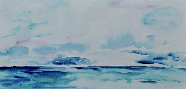 Painting - Wild Blue by Beverley Harper Tinsley