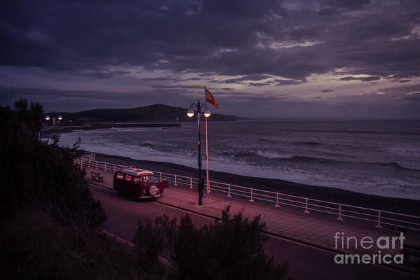 Photograph - Wild Camping On Aberystwyth Promenade by Keith Morris