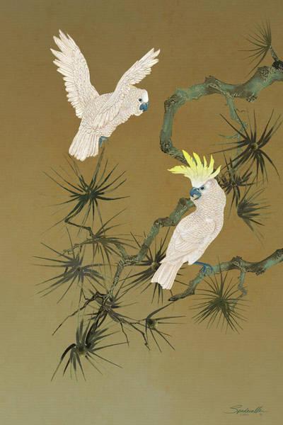 Digital Art - Wild Cockatoos by M Spadecaller