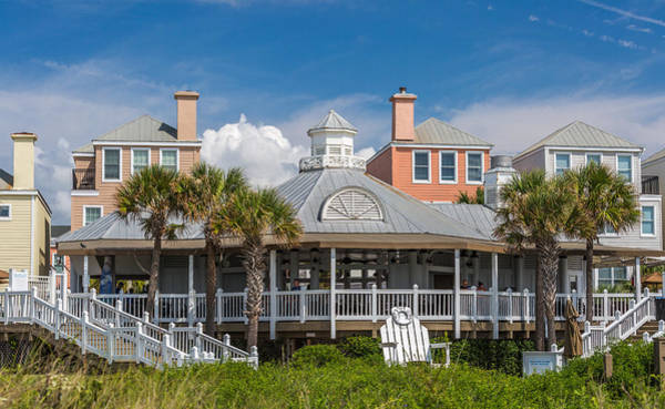 Photograph - Wild Dunes Boardwalk And Grand Pavilion  by Donnie Whitaker