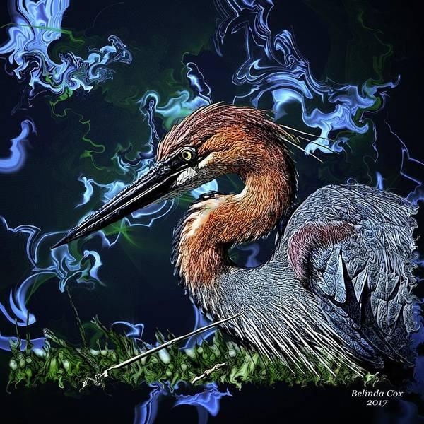Wild Goliath Herona Art Print