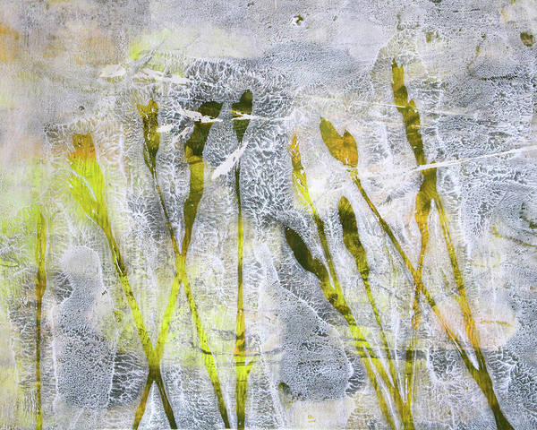 Prairie Grass Painting - Wild Grass 3 by Nancy Merkle