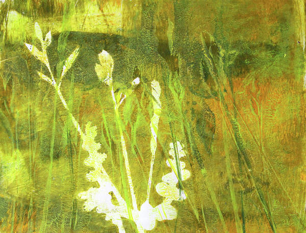 Prairie Grass Painting - Wild Grass 7 by Nancy Merkle