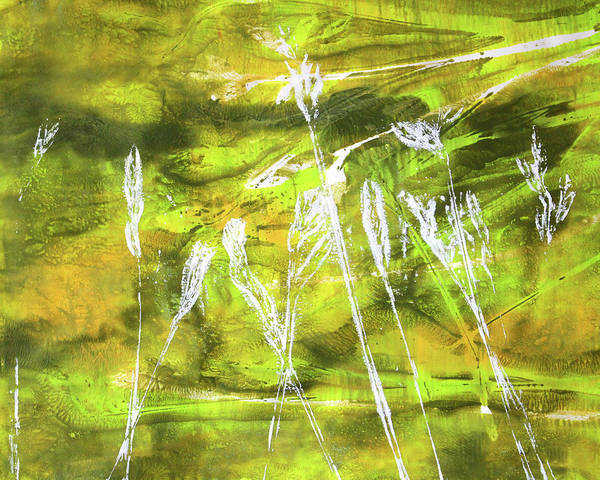 Prairie Grass Painting - Wild Grass 9 by Nancy Merkle