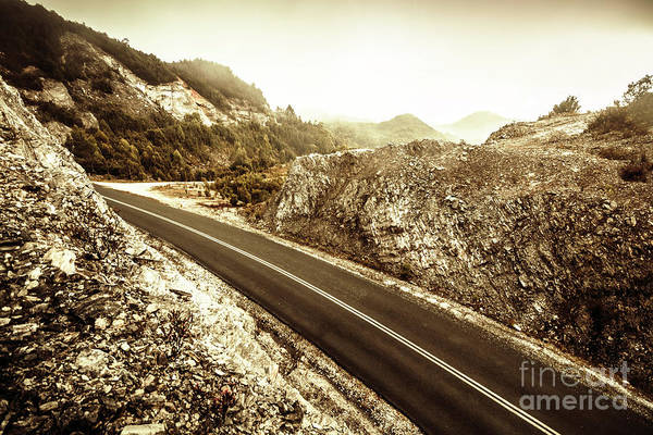 Mountain Range Photograph - Wild Highland Road by Jorgo Photography - Wall Art Gallery