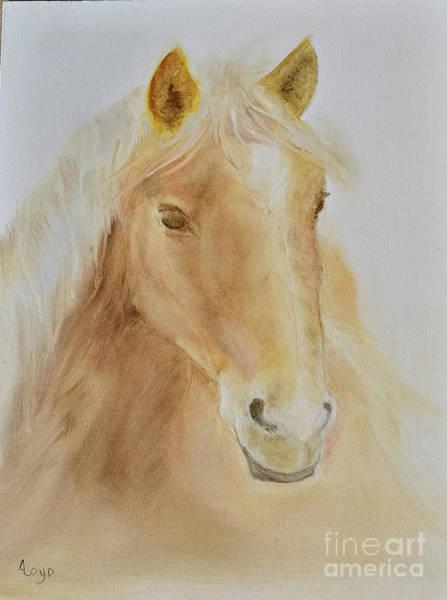 Wall Art - Painting - Wild Horse by Ann Loyd