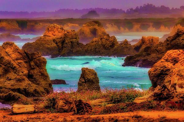 Costal Photograph - Wild Mendocino Coast by Garry Gay