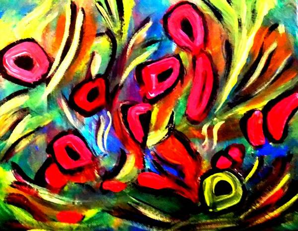 Painting - Wild Poppies by Nikki Dalton