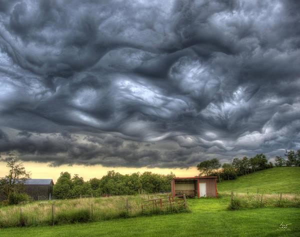 Photograph - Wild Sky 1 by Sam Davis Johnson