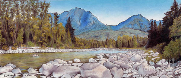 Painting - Wild Sky by Rhonda Dicksion
