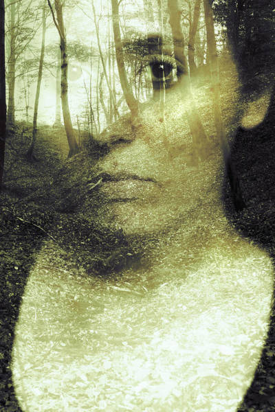 Wicca Photograph - Wild Spirit by Art of Invi