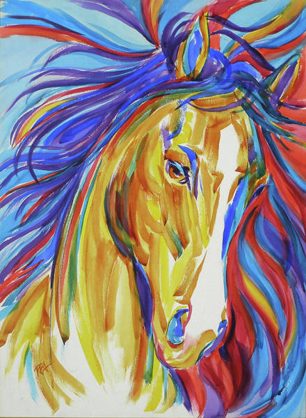Painting - Wild Spirit by RB Anderson