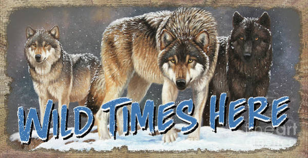 Painting - Wild Times Here by Cynthie Fisher