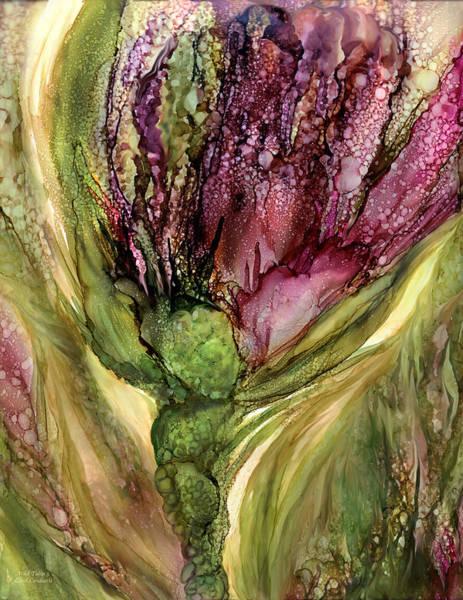 Tulips Mixed Media - Wild Tulip 3 by Carol Cavalaris