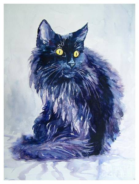 Kitten Wall Art - Painting - Wild Vagabond by Suzann's Art