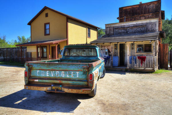 Photograph - Wild West Chevrolet by Lynn Bauer