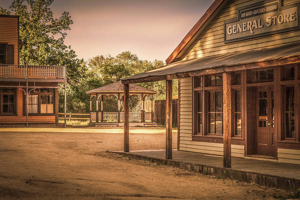 Photograph - Wild West General Srore by Gene Parks