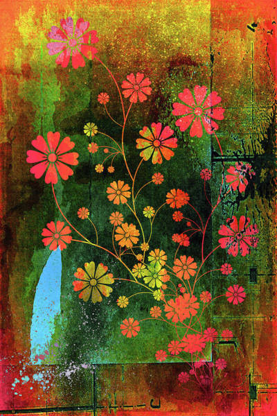 Mixed Media - Wild With Color by Isabella Howard