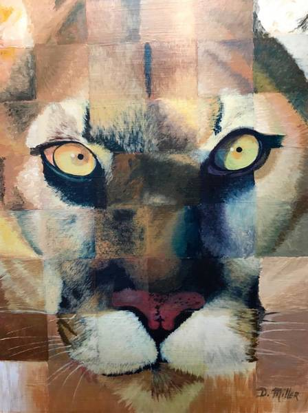 Painting - Wildcat by Dustin Miller