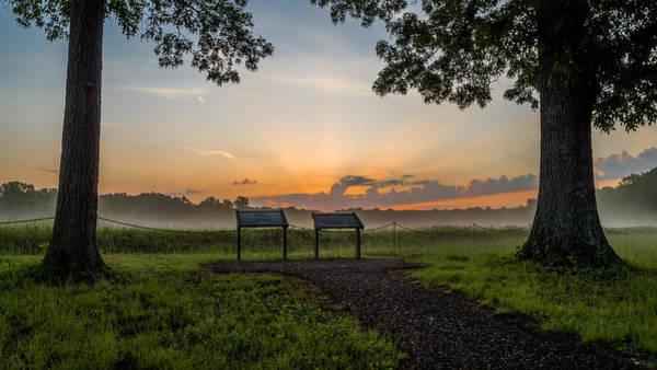 Wall Art - Photograph - Wilderness Battlefield Sunrise by Lori Coleman