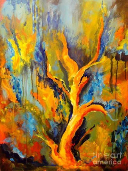 Painting - Wilderness by Dagmar Helbig