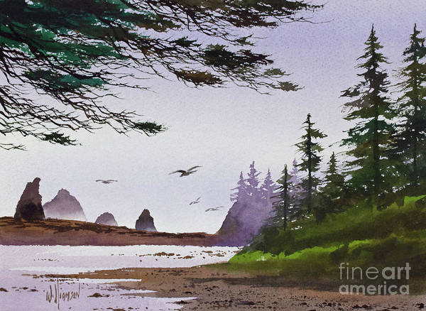 Wall Art - Painting - Wilderness Sanctuary by James Williamson