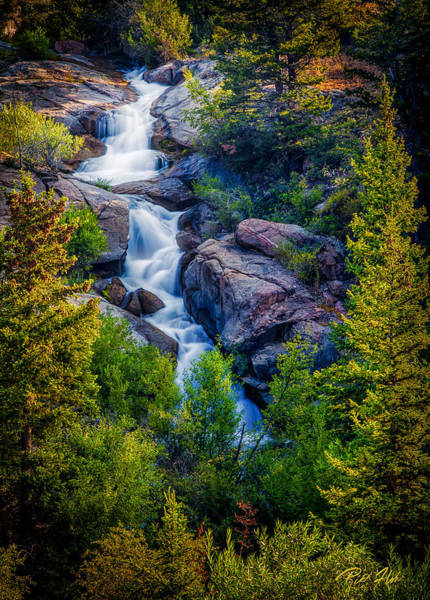 Photograph - Wilderness Stepfalls by Rikk Flohr