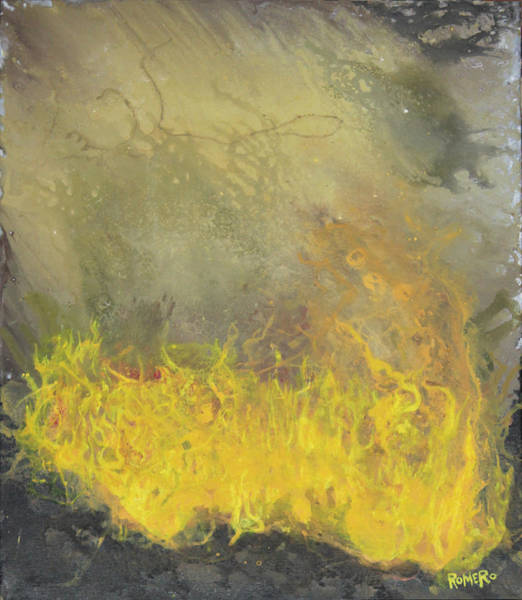 Wall Art - Painting - Wildfire by Antonio Romero