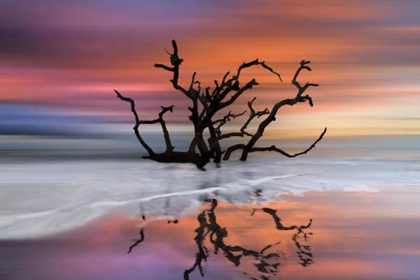 Photograph - Wildfire Dreamscape by Debra and Dave Vanderlaan